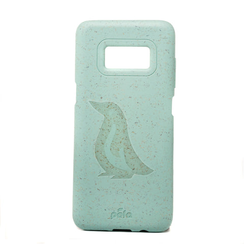 Penguin Ocean Turquoise Samsung S8 Eco-Friendly Phone Case