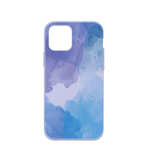 Lavender Blue Reflections iPhone 12/ iPhone 12 Pro Case