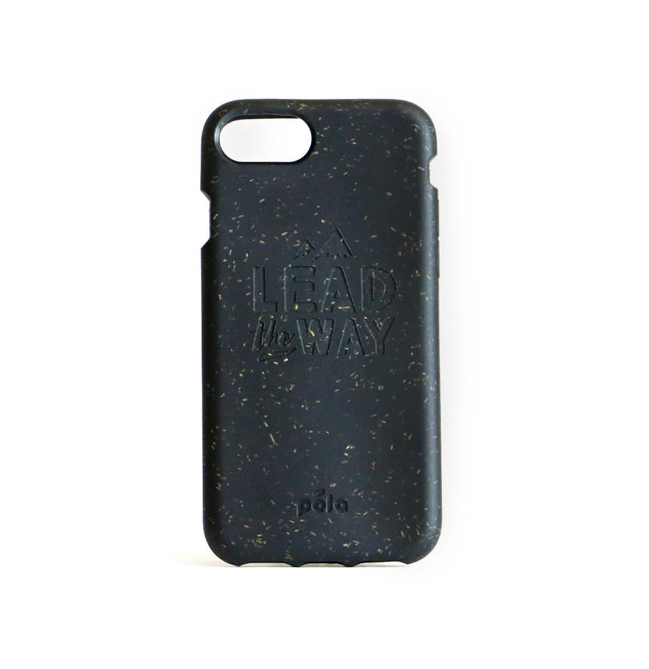 """Lead The Way"" Black Eco Friendly iPhone Plus Case"