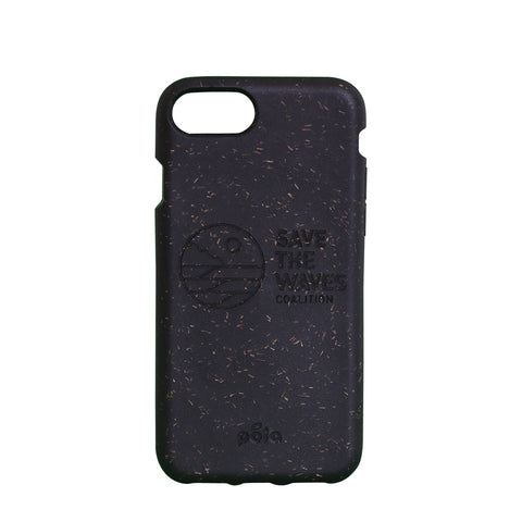 Save The Waves Eco-Friendly iPhone  7 / 8 Case - Black