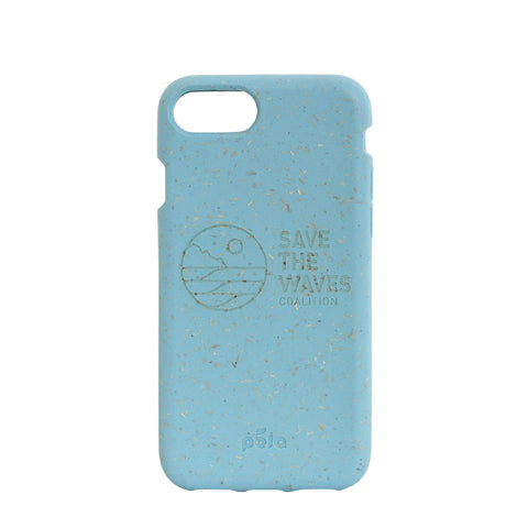 Save The Waves Eco-Friendly iPhone 7 / 8 Case - Sky Blue