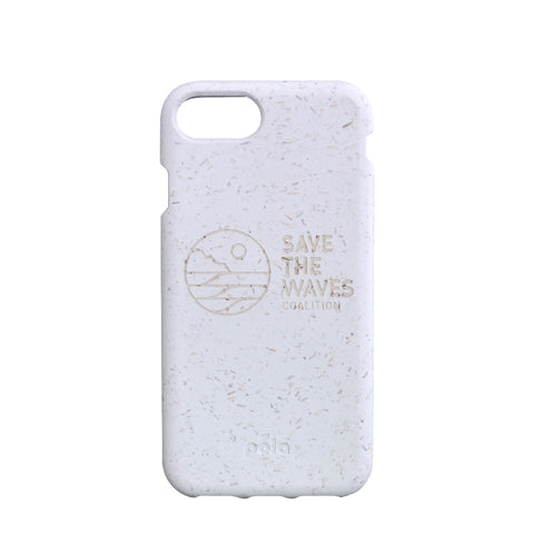 Save The Waves Eco-Friendly iPhone 7 / 8 Case - White