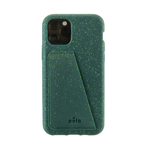Green Eco-Friendly iPhone 11 Pro Wallet Case