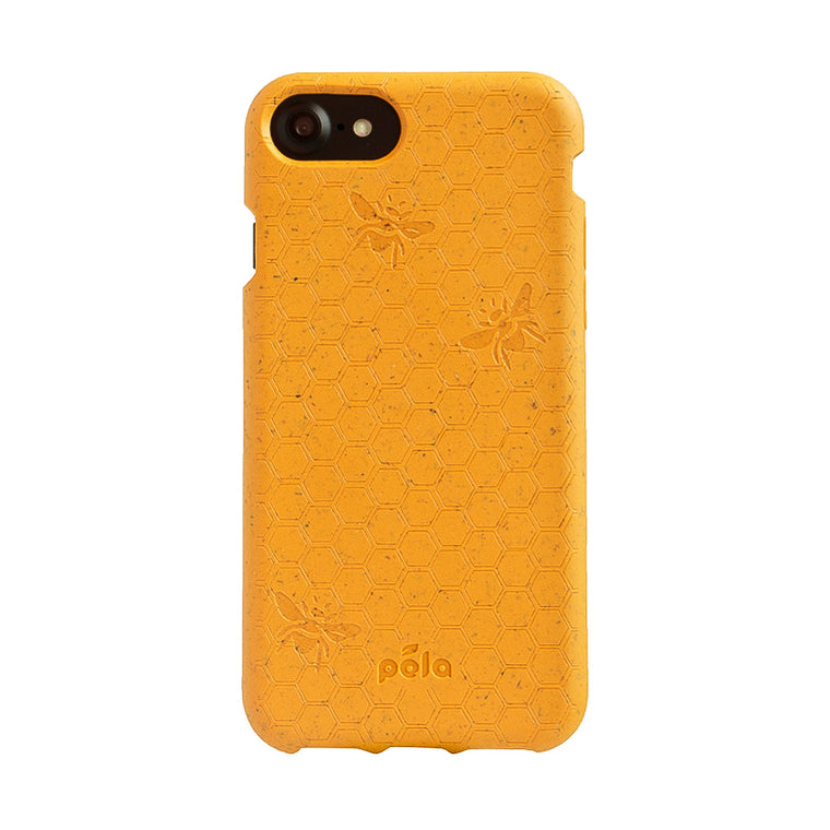 eco friendly iphone, google and samsung cases 100% biodegradablehoney (bee edition) eco friendly iphone 7 8