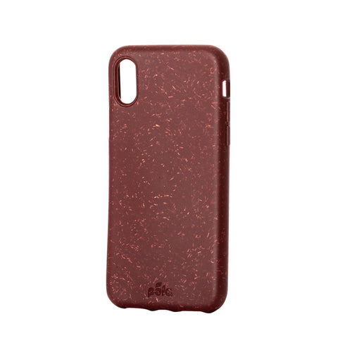 Beetroot Red Eco-Friendly iPhone X Case