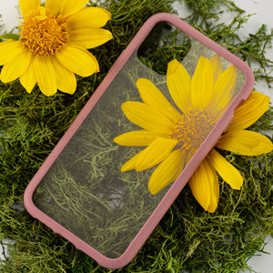Clear Eco-Friendly iPhone XS Case with Cassis Ridge
