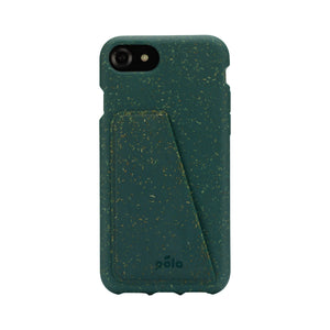 Green iPhone 6/6s/7/8/SE Wallet Case