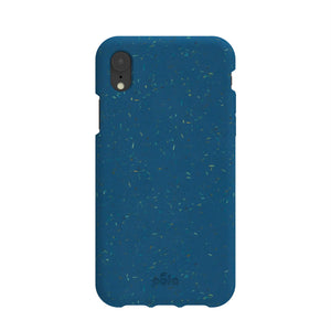 Stormy Blue Eco-Friendly iPhone XR Case