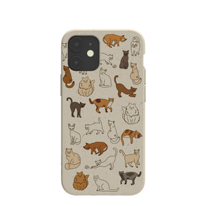 London Fog Kitty Cats iPhone 12/ iPhone 12 Pro Case