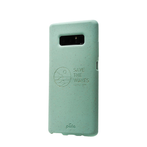 Save The Waves - Ocean Turquoise Samsung Note8 Eco-Friendly Phone Case