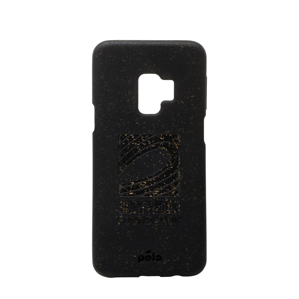 Surfrider Black Samsung S9 Eco-Friendly Phone Case