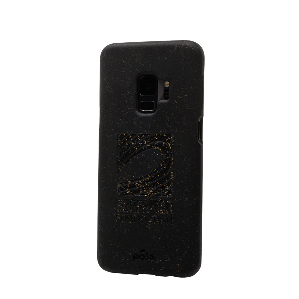 Surfrider Black Samsung S9+(Plus) Eco-Friendly Phone Case