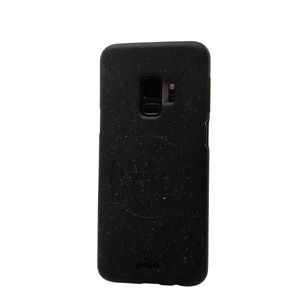 Save The Waves - Black Samsung S9+(Plus) Eco-Friendly Phone Case