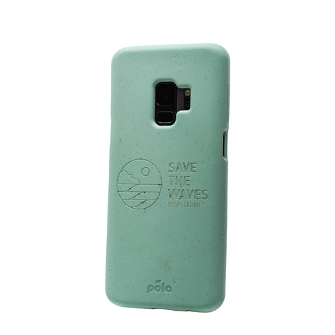 Save The Waves - Ocean Turquoise Samsung S9+(Plus) Eco-Friendly Phone Case
