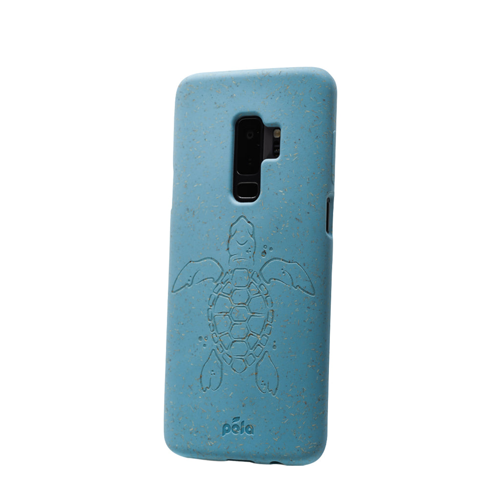 Sky Blue (Turtle Edition) Samsung S9 Eco-Friendly Phone Case
