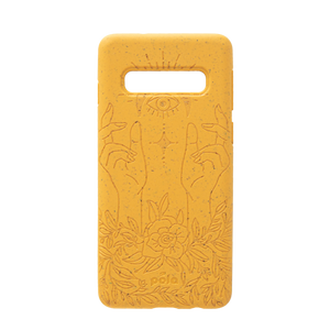 Mellow Yellow Rise Samsung S10 Eco-Friendly Phone Case