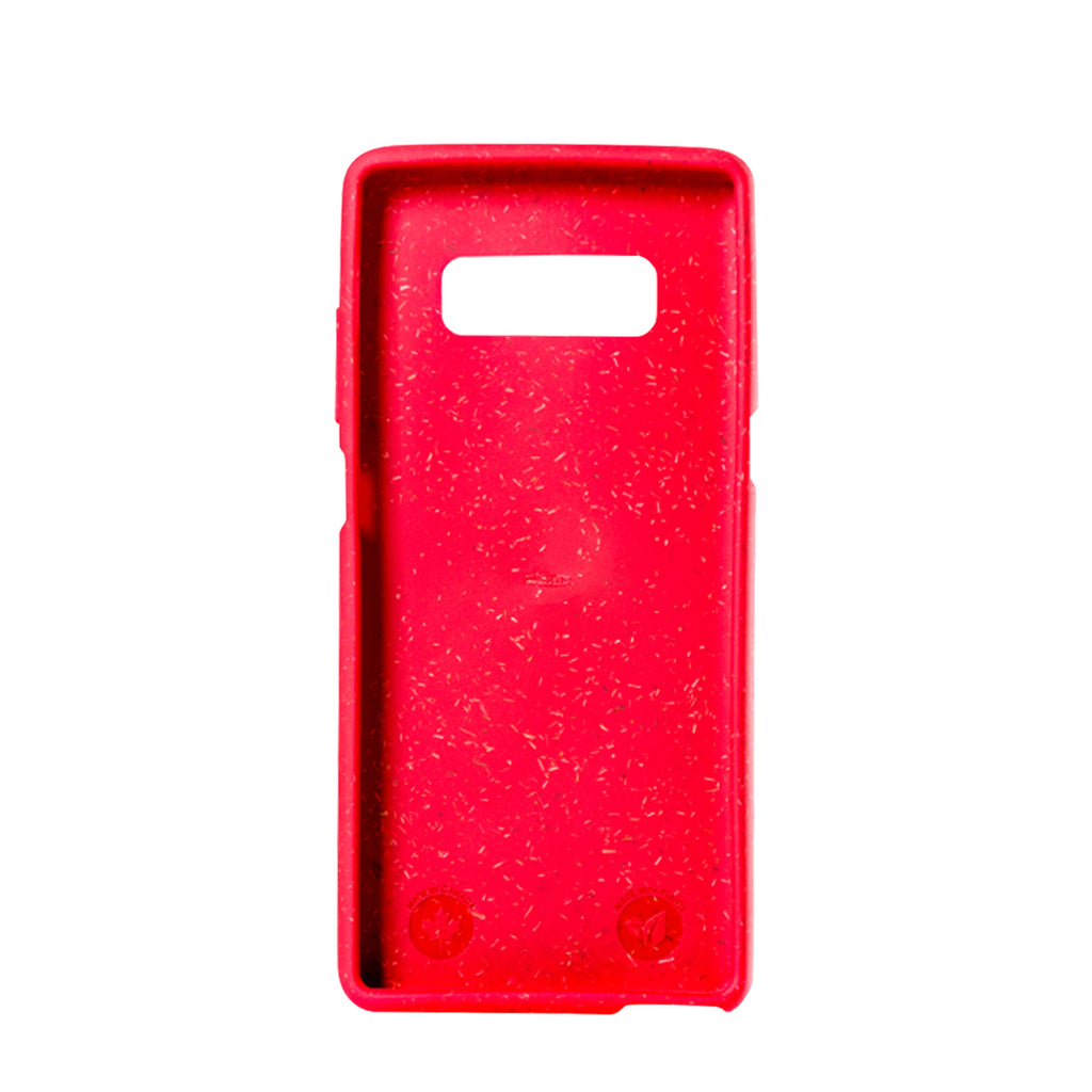 Red Samsung Note8 Eco-Friendly Phone Case