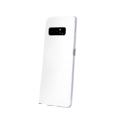White Samsung Note8 Eco-Friendly Phone Case