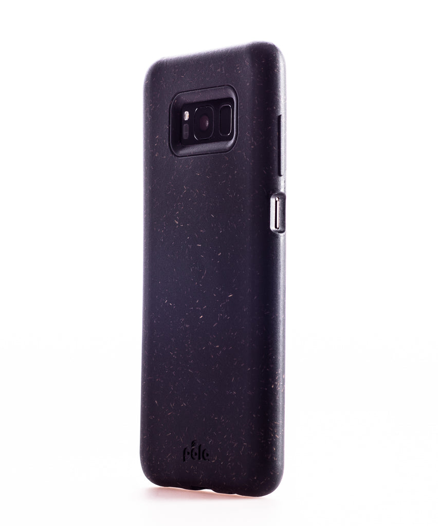 Black Samsung S8 Eco-Friendly Phone Case