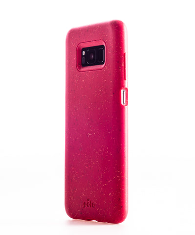 Red Samsung S8 Eco-Friendly Phone Case