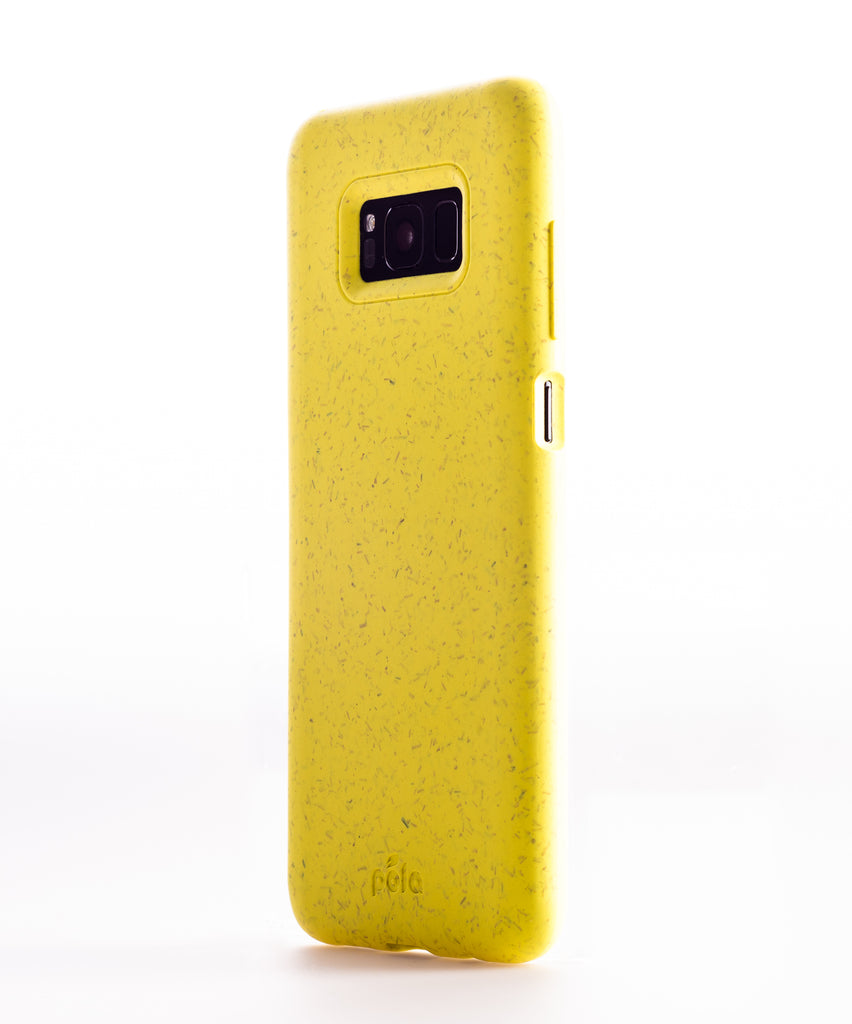 Sunshine Yellow Samsung S8+(Plus) Eco-Friendly Phone Case
