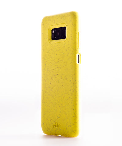 Sunshine Yellow Samsung S8 Eco-Friendly Phone Case