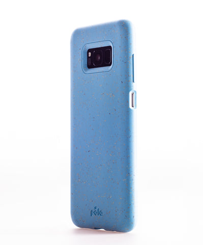 Sky Blue Samsung S8+(Plus) Eco-Friendly Phone Case