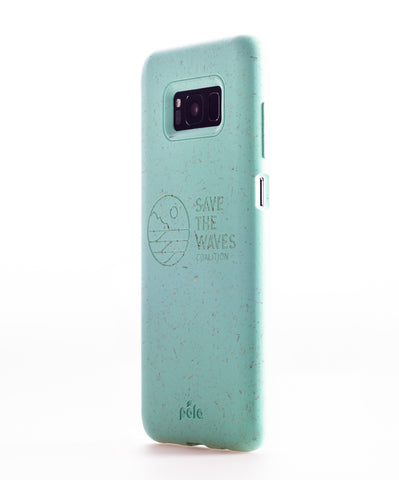 Save The Waves - Ocean Turquoise Samsung S8 Eco-Friendly Phone Case