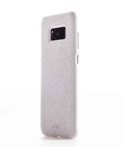 White Samsung S8+(Plus) Eco-Friendly Phone Case
