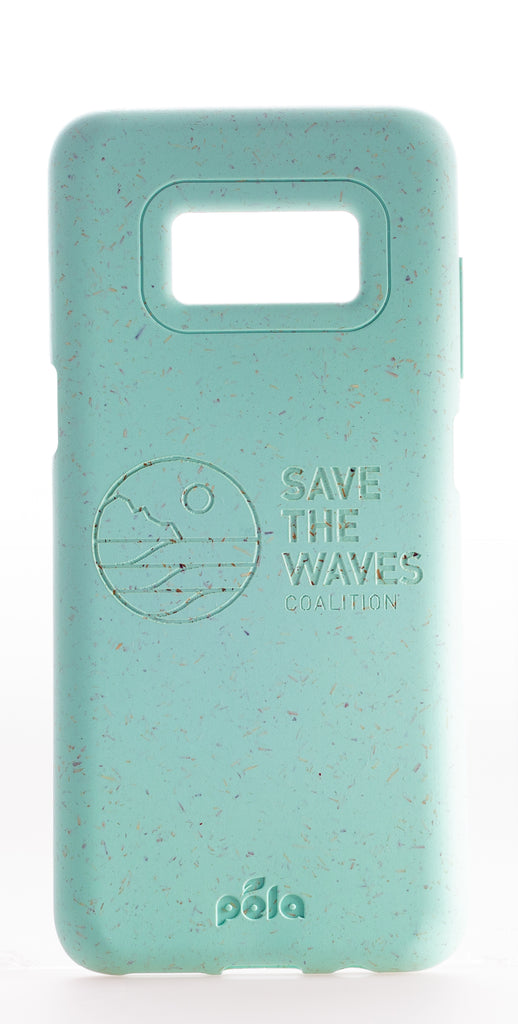 Save The Waves - Ocean Turquoise Samsung S8+(Plus) Eco-Friendly Phone Case