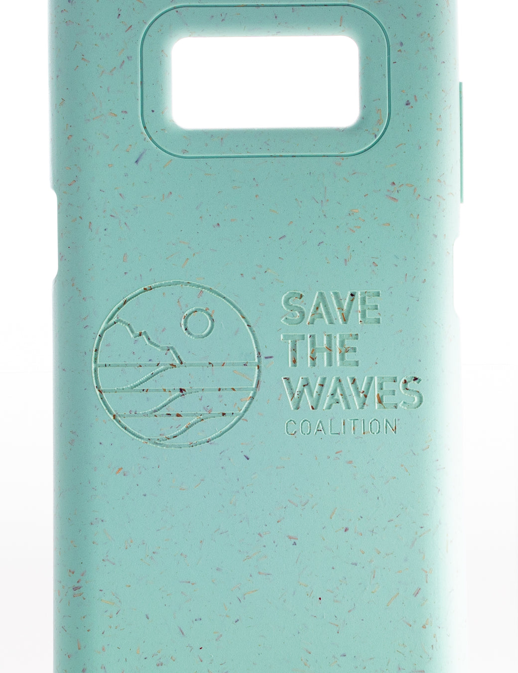 Save The Waves - Ocean Turquoise Samsung S8 Eco-Friendly