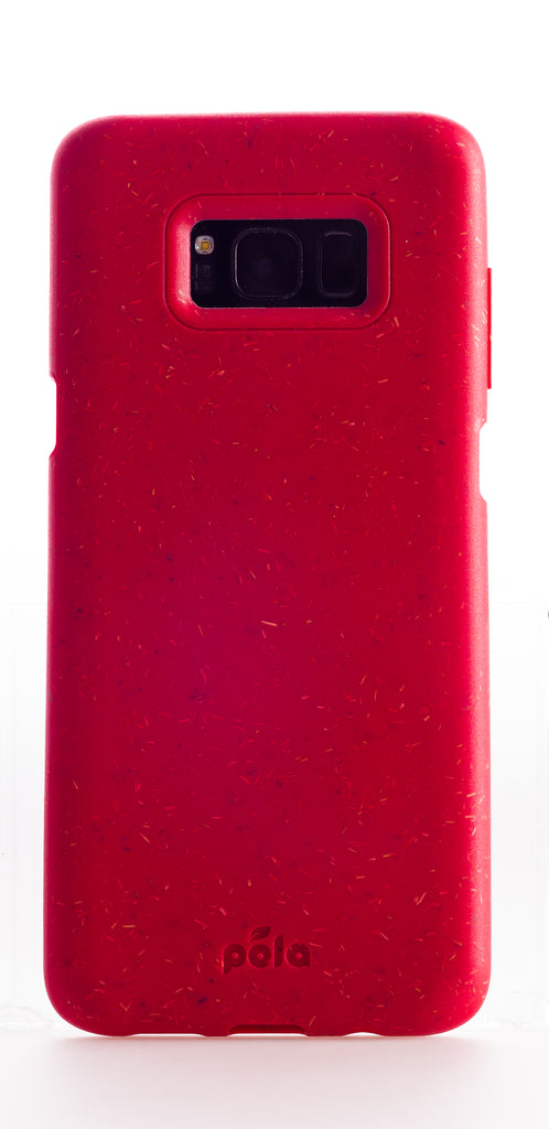 Red Samsung S8+(Plus) Eco-Friendly Phone Case
