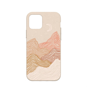 Seashell Pink Peaks Eco-Friendly iPhone 12/iPhone 12 Pro Case