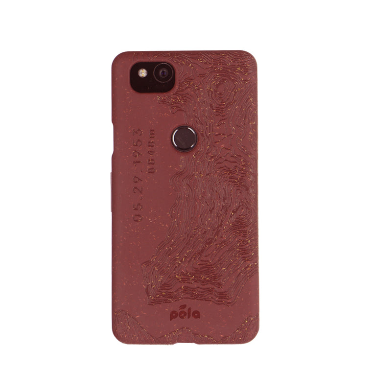 0f9b9e8bdb0 Beetroot Red (Everest Edition) Eco-Friendly Google Pixel 2 Case
