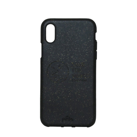 Save The Waves Eco-Friendly iPhone X Case - Black
