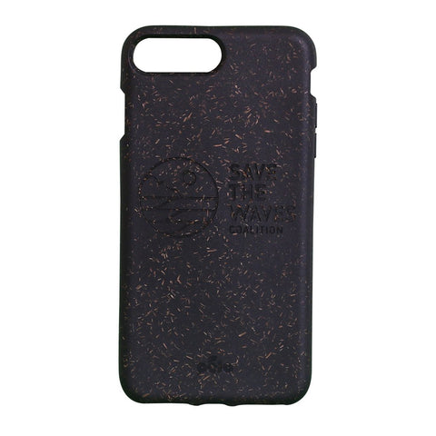 Save The Waves Eco-Friendly iPhone PLUS Case - Black