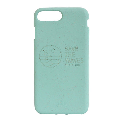 Save The Waves Eco-Friendly iPhone Plus Case - Ocean