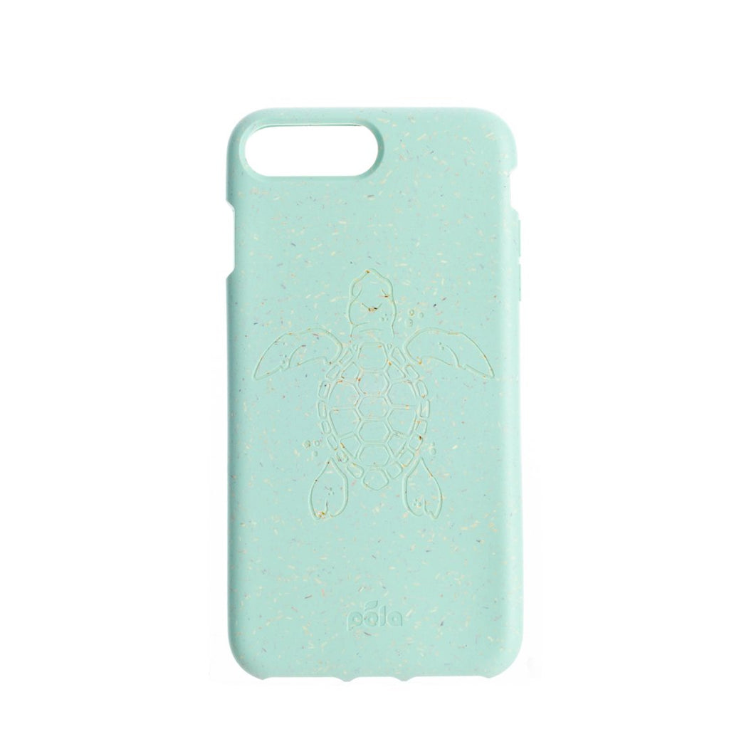 Ocean Turquoise (Turtle Edition) Eco-Friendly iPhone Plus Case