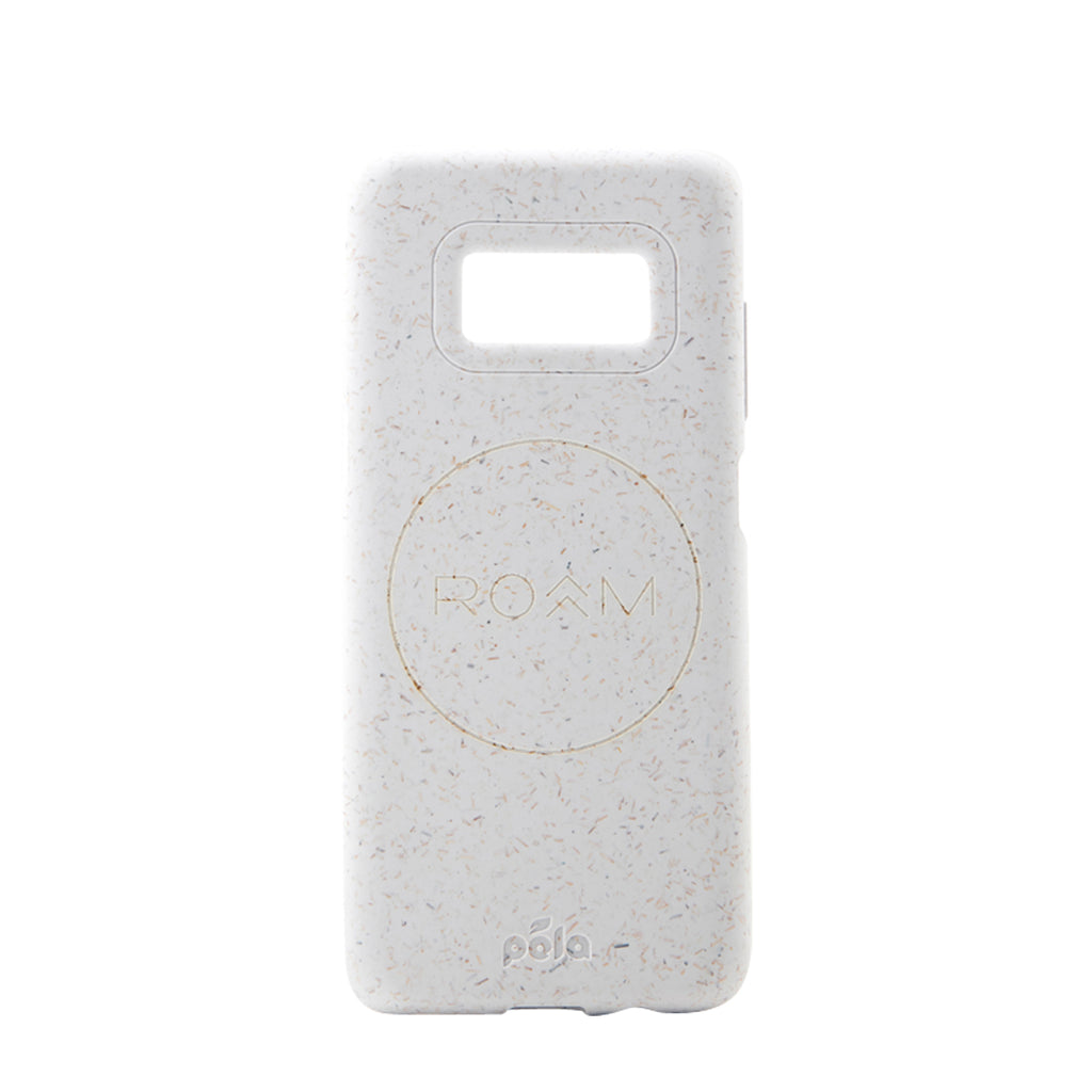 ROAM White Samsung S8 Eco-Friendly Phone Case