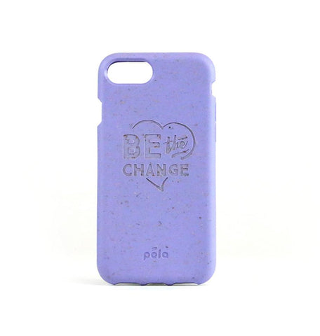 """Be The Change"" Lavender Eco Friendly iPhone SE / 5 / 5S Case"
