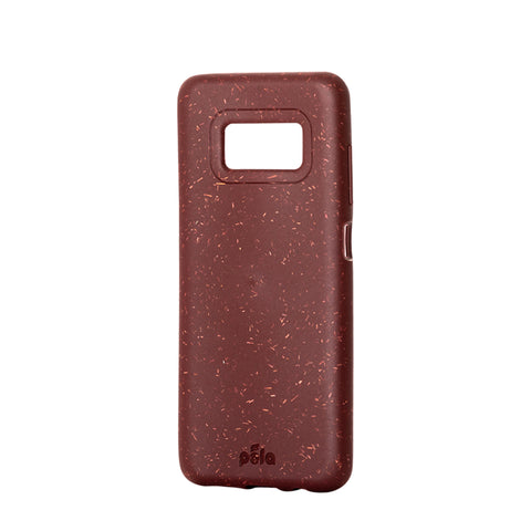 Beetroot Red Samsung S8 Eco-Friendly Phone Case