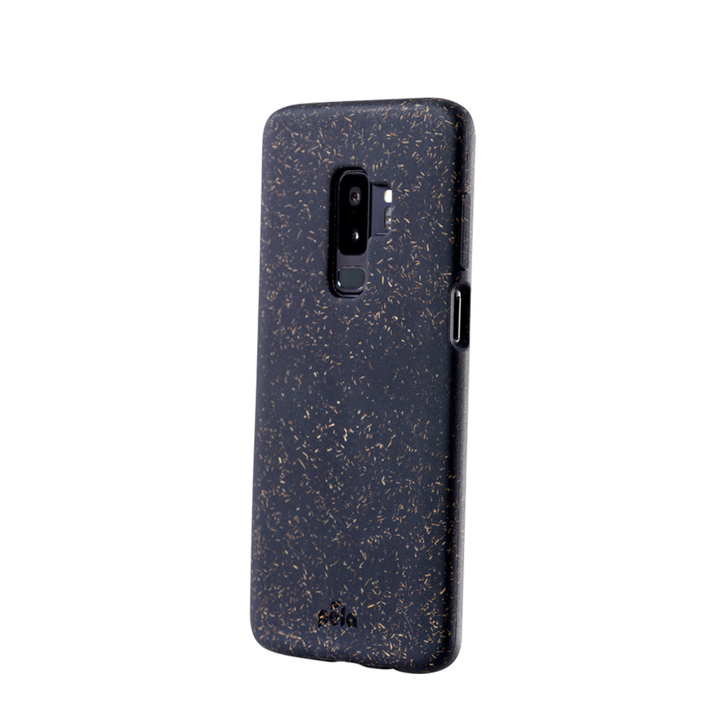 Black Samsung S9+(Plus) Eco-Friendly Phone Case