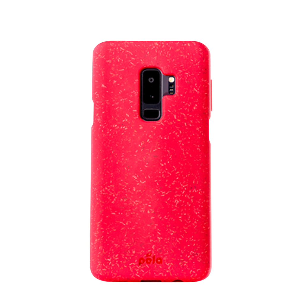 Red Samsung S9+(Plus) Eco-Friendly Phone Case