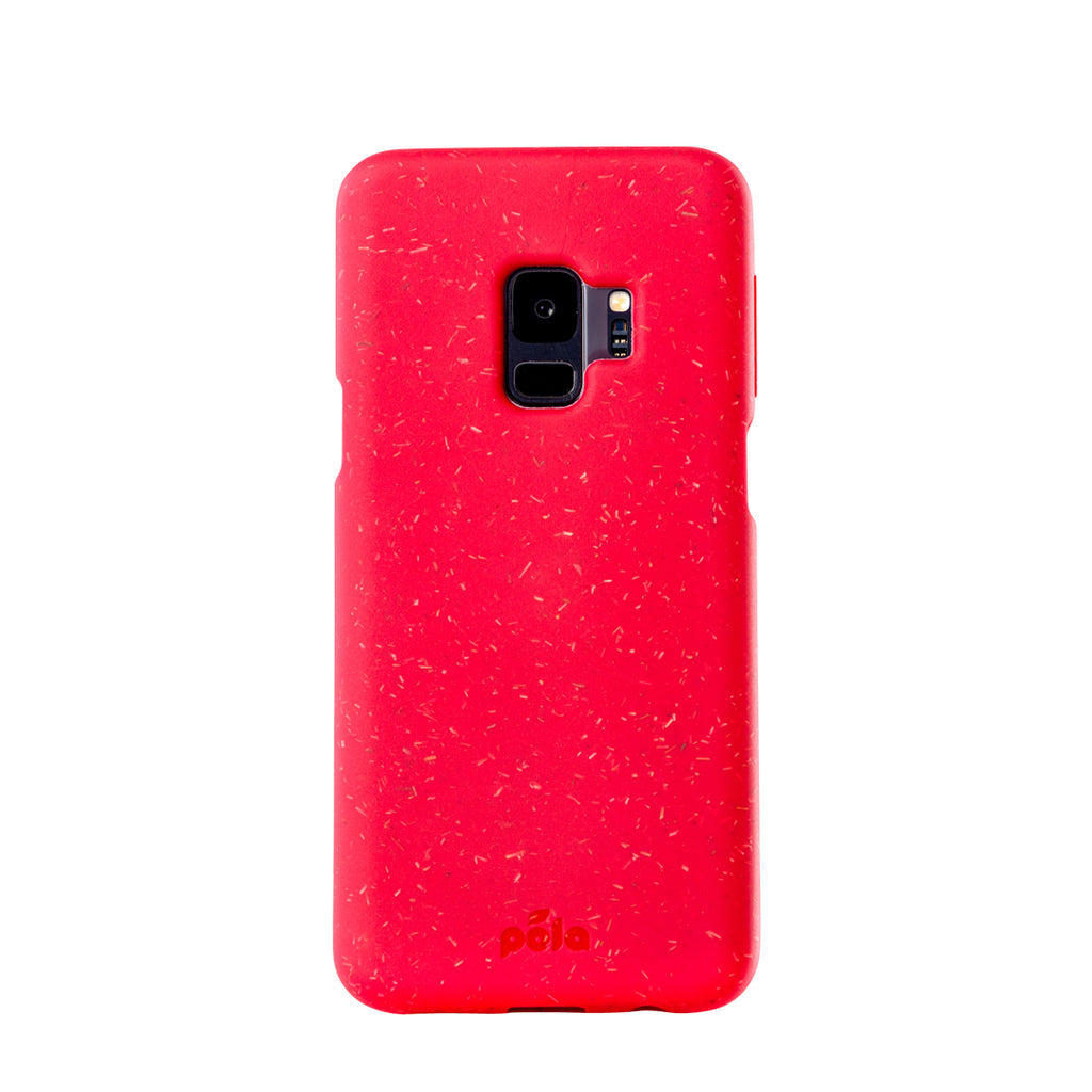 Red Samsung S9 Eco-Friendly Phone Case