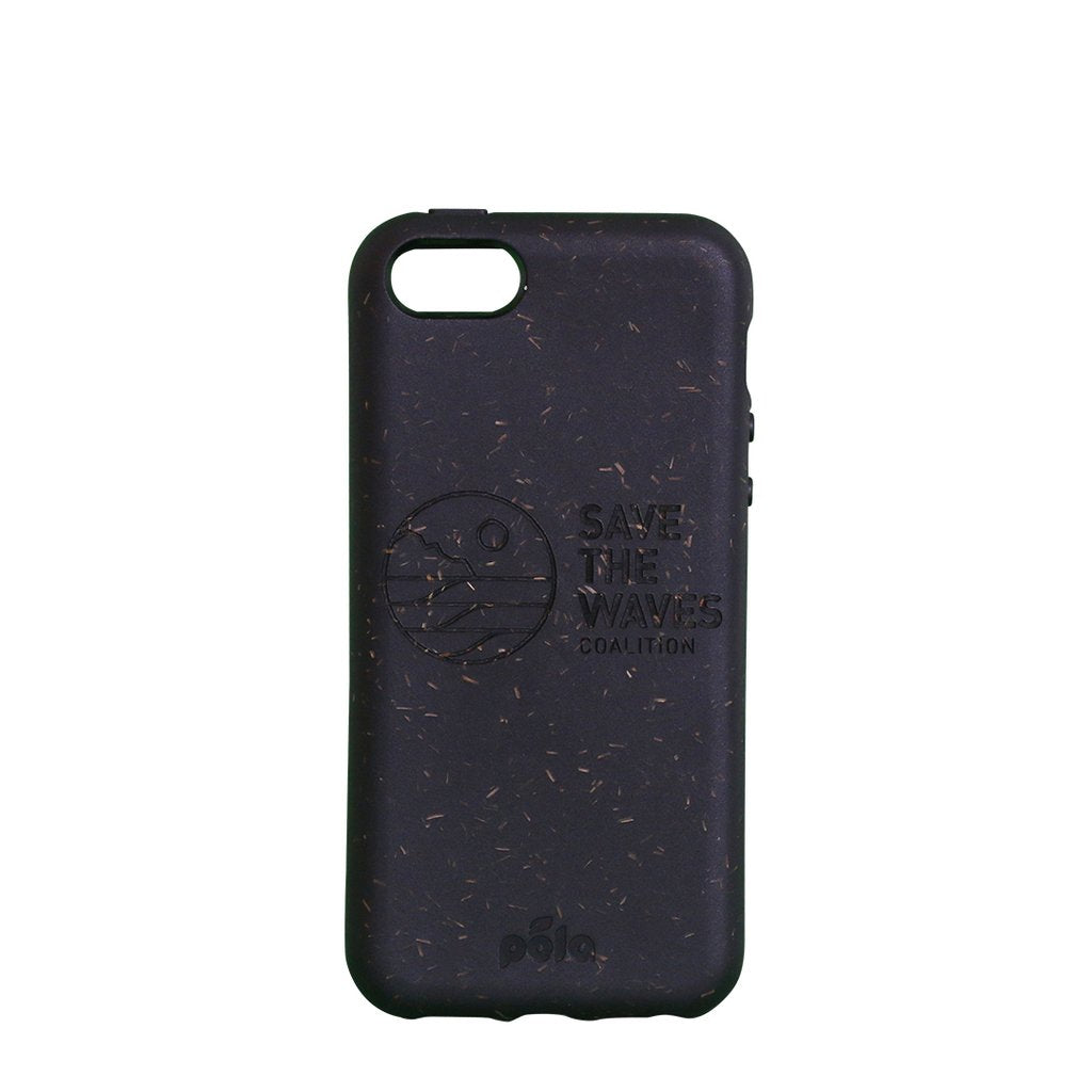 Save The Waves Eco-Friendly iPhone SE / 5 / 5S Case - Black
