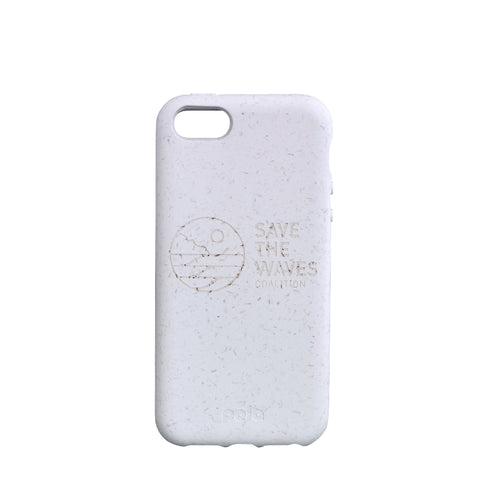 Save The Waves Eco-Friendly iPhone SE / 5 / 5S - White