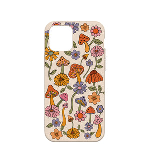 Seashell Shrooms and Blooms iPhone 12/ iPhone 12 Pro Case