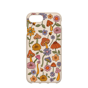 Seashell Shrooms and Blooms iPhone 6/6s/7/8/SE Case