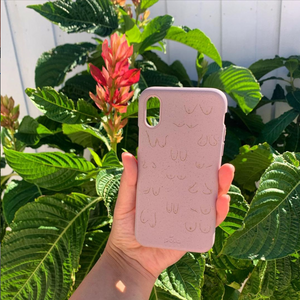 Blush Sister Eco-Friendly iPhone XR Case
