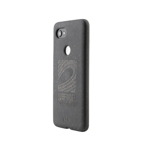 Surfrider Black Google Pixel 2XL Eco-Friendly Phone Case